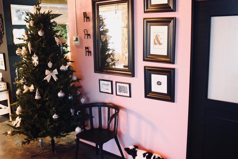 カーテンカーテン クリスマスツリー